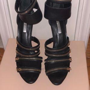 BCBGeneration Shoes - BCBG Generation black sandal heels
